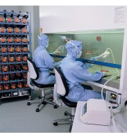 Bimos Cleanroom Plus 2 with castors- 380mm contact backrest