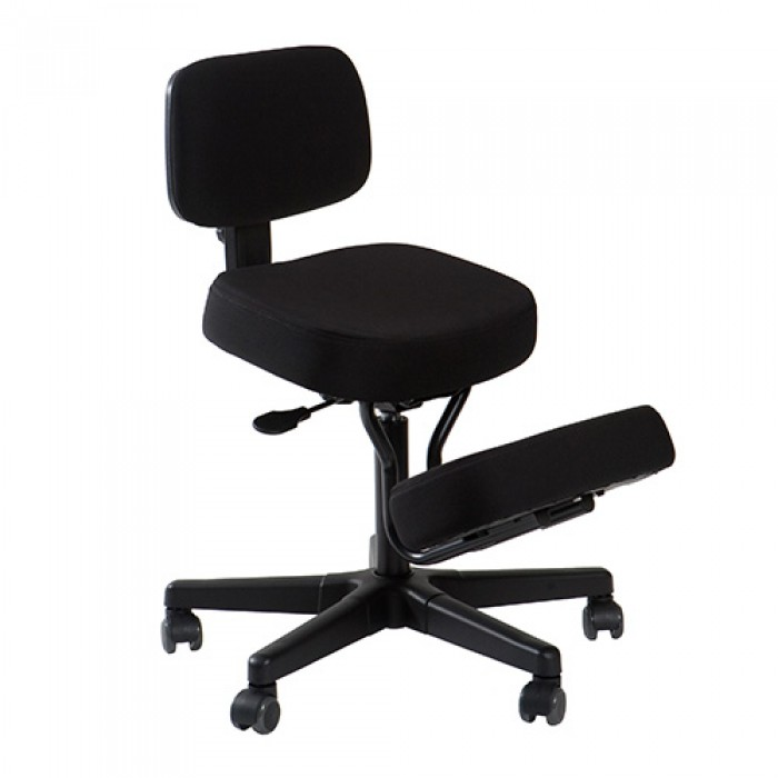 kneeling posture chair with back support by qdos now available in